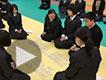 清水桜が丘高等学校 第4回 百人一首大会<<<